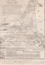 Plan geométrico del Triangulo que forman Tarragona y Reus con el Puerto de Salou (1807). Font: España. Ministerio de Defensa. Archivo del Museo Naval AMN. E-28-31. Villa de Reus.