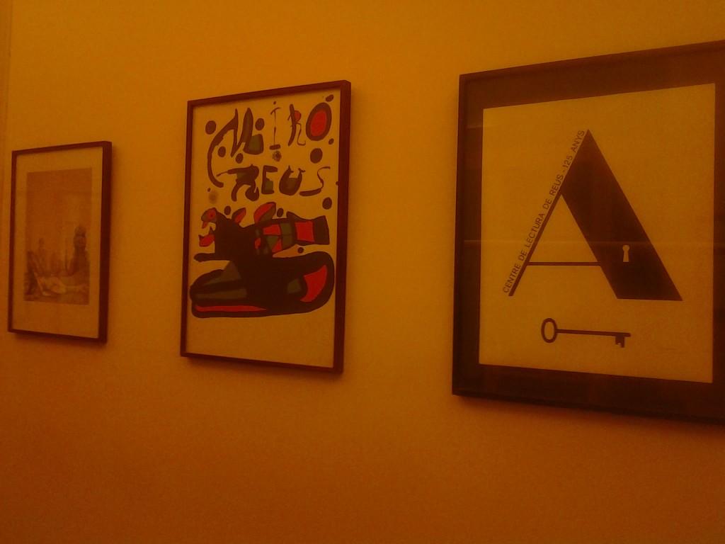 Miró, Subirachs, Brossa i el Centre de Lectura