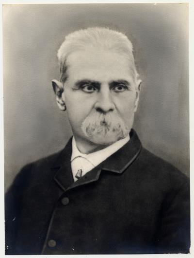 Tomàs Lletget, un dels primers presidents del Centre de Lectura (1861-1866, 1868-1875)
