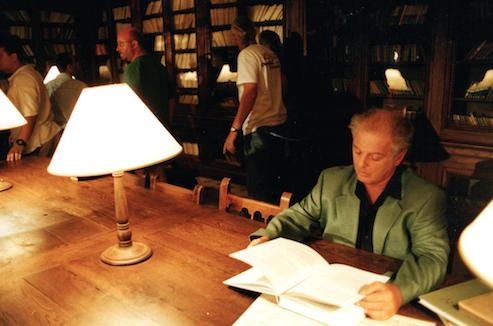Daniel Barenboim a Reus l'any 1998