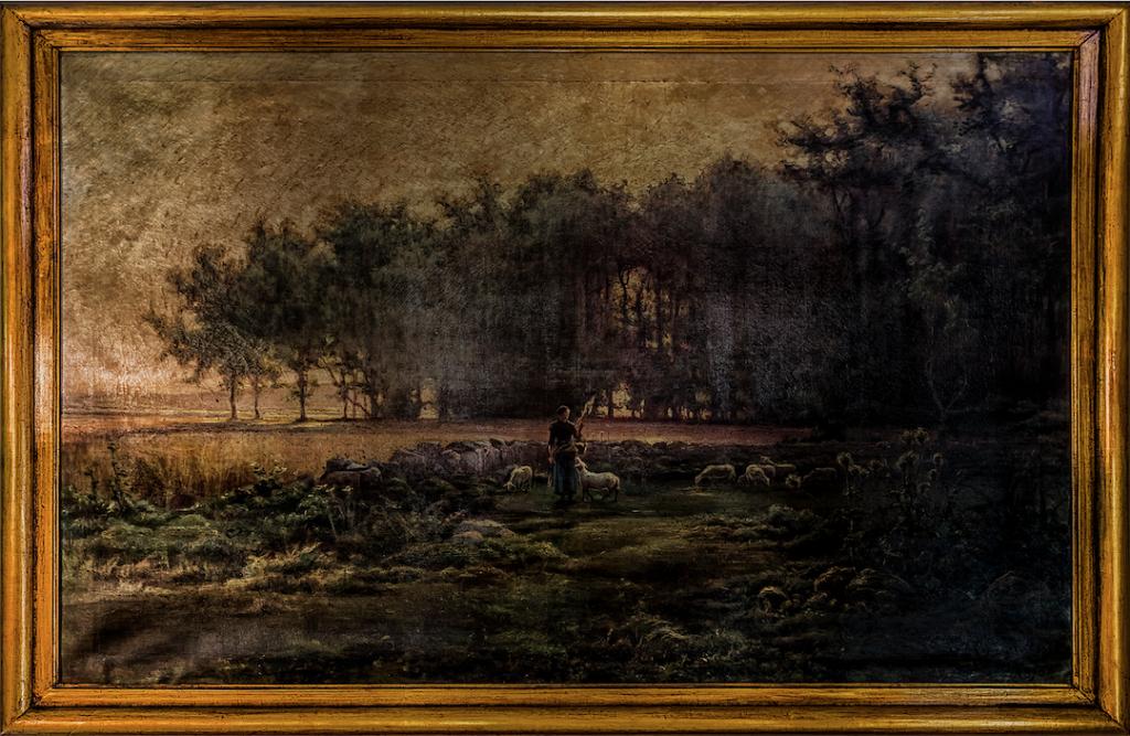 Una pintura entre la realitat i el misticisme
