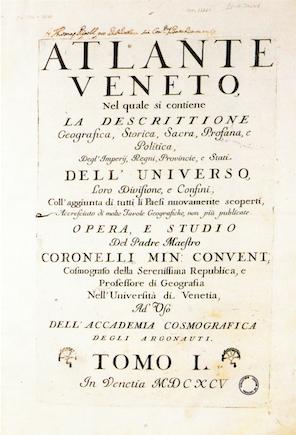 L'Atlante Veneto, una joia cartogràfica al Centre de Lectura