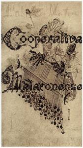 3. L'emblema de la Cooperativa Mataronense, dibuixat per Gaudí (fotografia d'arxiu)
