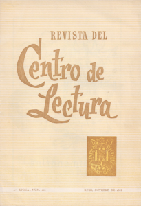 Fig. 27. Portada. Revista, 1969. Publicitat Borrell.