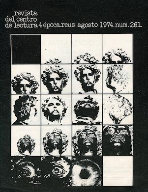Fig. 28. Portada. Revista, 1972. Claudi Arnavat i Arcadi Vilella.
