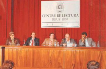 Inauguració del curs acadèmic 1984-1985. Vicent Andrés Estellés.