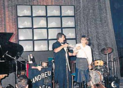 II Nit de Premis Reus al Teatre Bartrina l'any 1988