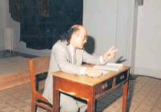 Lectura interpretada d'Electra, de Sòfocles, l'any 1987 al Centre