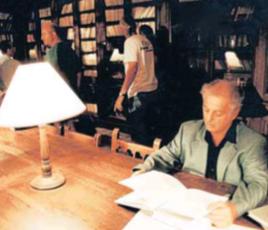 La visita de Daniel Barenboim al Centre de Lectura l'any 1998