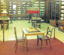 Rodatge d'«El fill de Caín» a la Biblioteca del Centre de Lectura