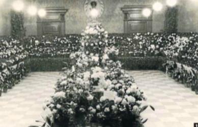 Les primeres exposicions de roses del Centre