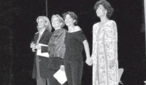 La reinauguració del Teatre Bartrina de Reus el 21 de maig de l'any 1997