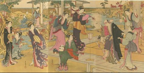 Ressò de japonisme: La selecció d'obres mestres de l'escola Ukiyo-e per Shimbi Shoin