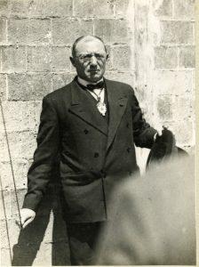 L'alcalde Fàbregas, en un acte portat a terme el 26 de maig de 1931. Arxiu del Centre de la Imatge Mas Iglesias.
