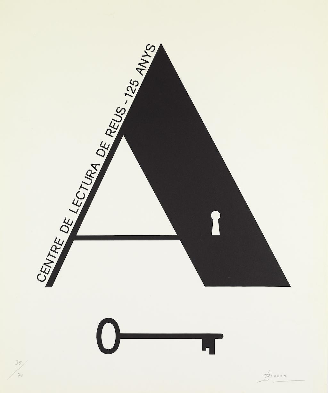 Cartell del 125è aniversari del Centre de Lectura