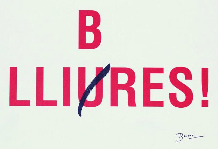 Imatge de l'obra Llibres/Lliures