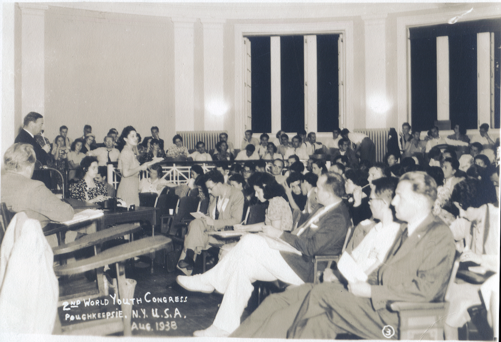 La presència de Teresa Pàmies al II Congrés Mundial de la Joventut