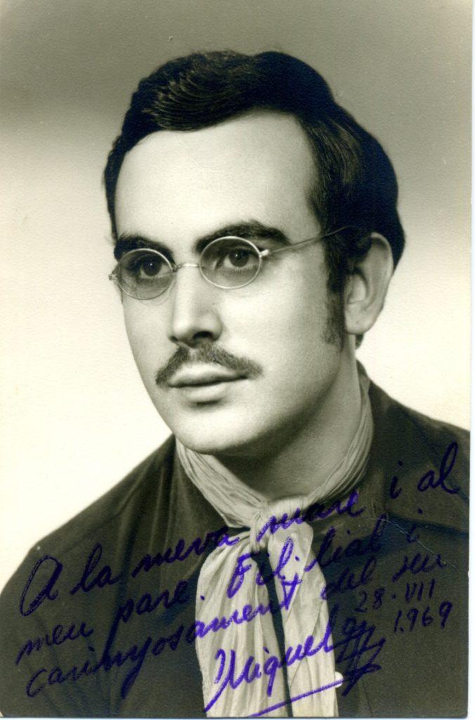 Quan Miquel Escudero xiuxiuejava: «Soy ligón de profesión» (textos de Miquel Escudero)