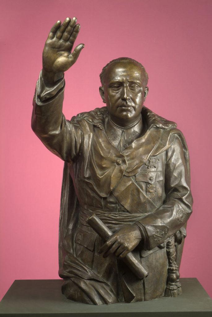 El retrat de Franco del Museu de Reus